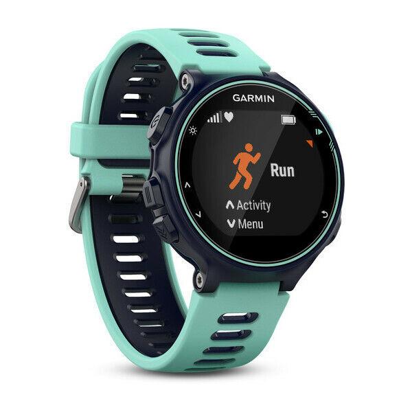 Garmin forerunner 735xt orologio sportivo nero, blu 215 x