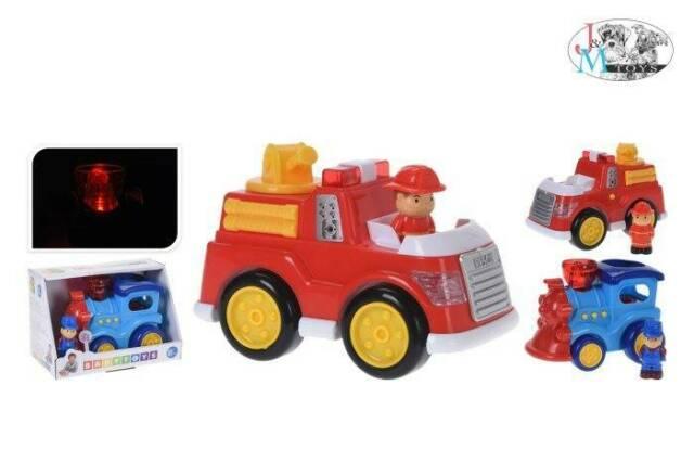 Gw jm baby veicoli c/personaggi l/s ass. - spedizione