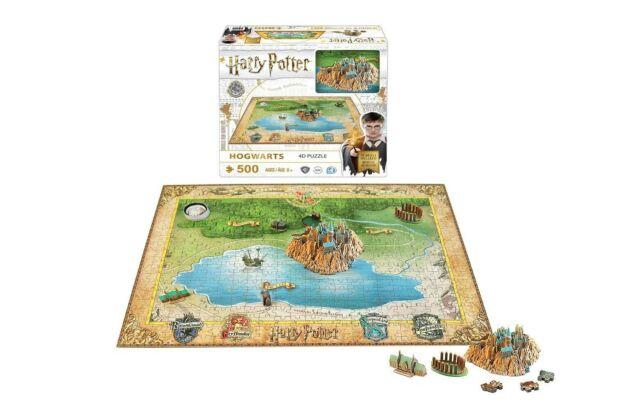 Gw jm harry potter 4d mini puzzle hogwarts (500