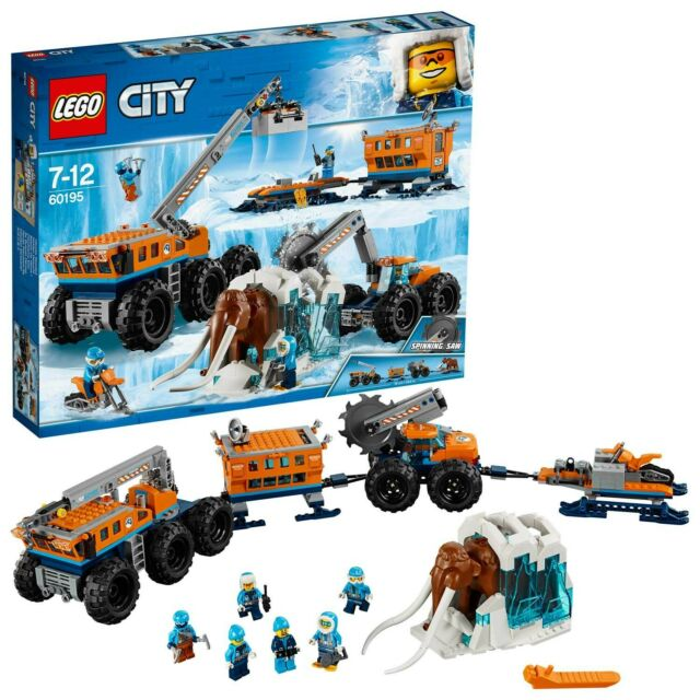 Gw jm lego city  - base mobile di esplorazione