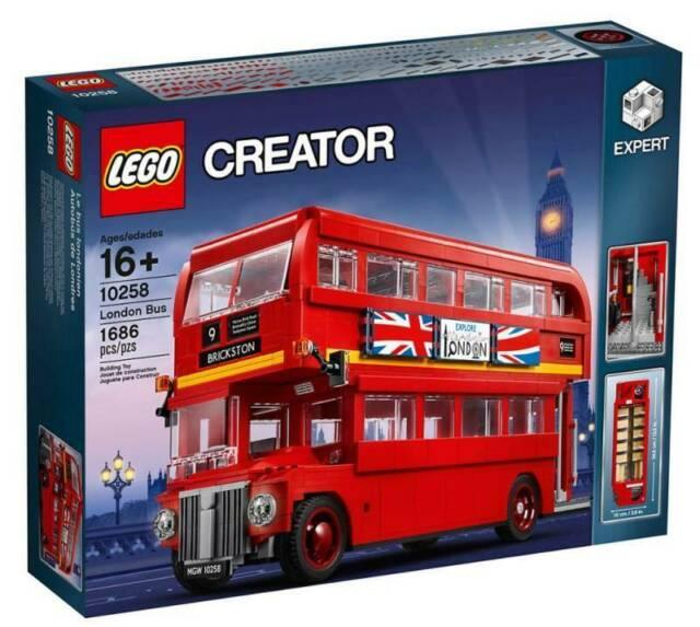 Gw jm london bus - spedizione in 5/10 giorni
