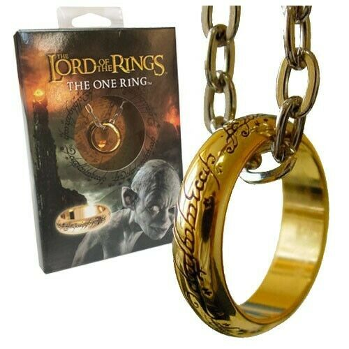 Gw jm lord of the rings-ring the one ring (gold