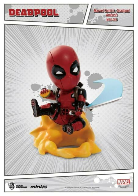 Gw jm marvel comics mini egg attack figure deadpool