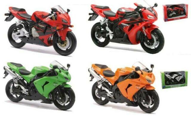Gw jm new ray - moto stradali, scala 1/12 - modelli
