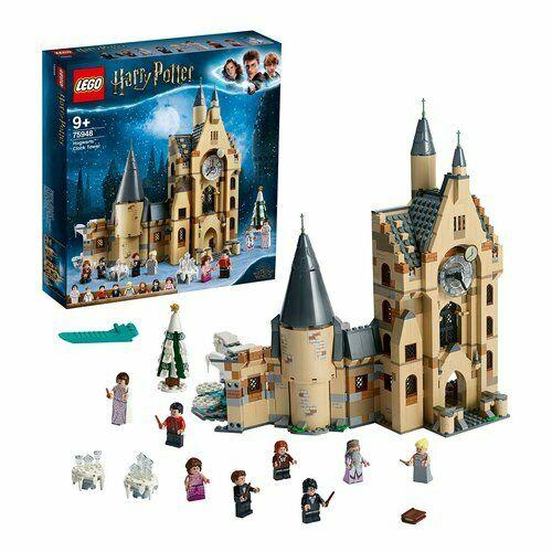 Lego - costruzioni la torre dell'orologio di hogwarts harry