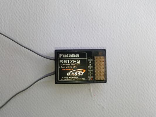 Ricevente Futaba R617FS Fasst 2.4GHz 7 canali