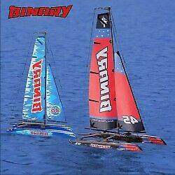 Binary 400mm mini catamaran sailboat 2.4g rtr
