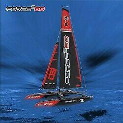 Force2 60 catamaran sailboat 2.4ghz rtr, mode 2