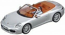 Porsche 911 carrera s cabrio (silver)
