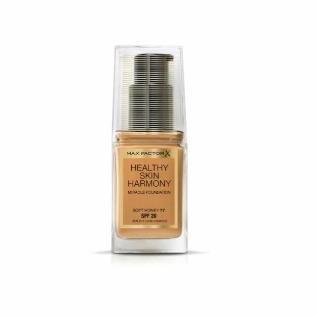 Healthy skin harmony foundation spf soft honey