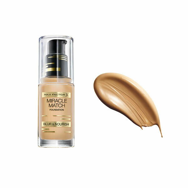 Max factor miracle match foundation 77 soft honey