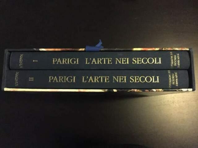 """Libro """" parigi l'arte nei secoli """" 2 volumi magnus"""