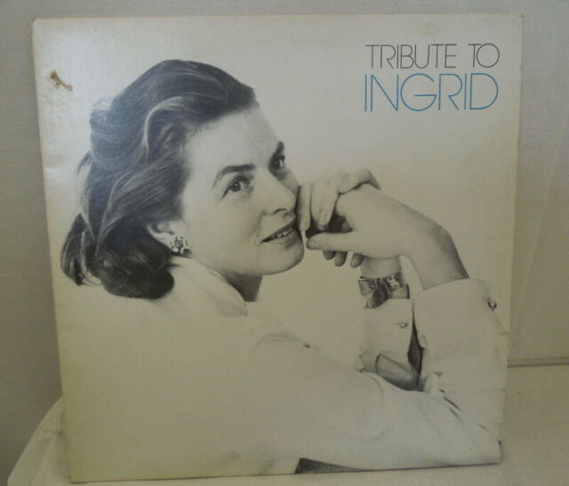 Lp 33 giri - vinile Tribute to Ingrid
