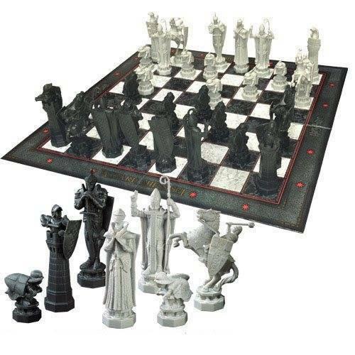 Gw jm harry potter chess set wizards chess -