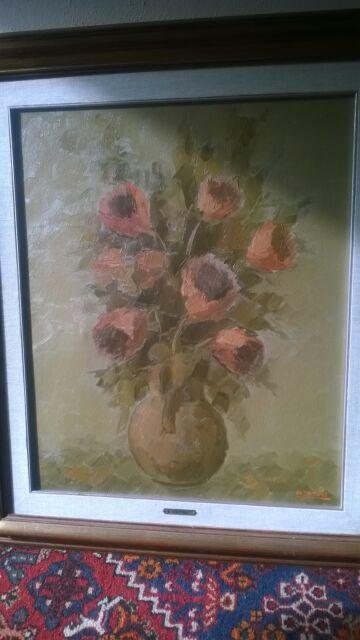 4 dipinti a olio di alviero tatini