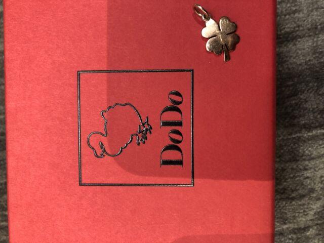 Ciondolo Dodo in oro rosa nuovo con scatola