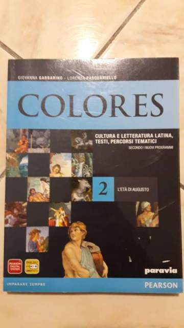 Colores 2l'età di augusto ISBN