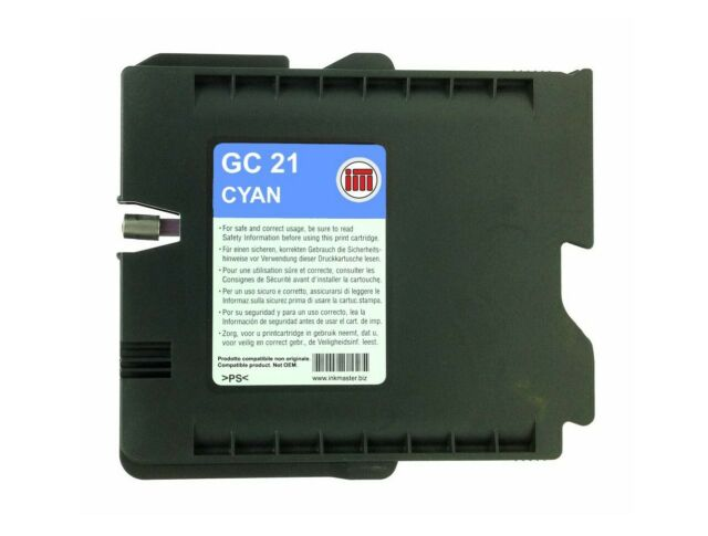 Cartuccia compatibile RICOH GC21-C CYAN pag.