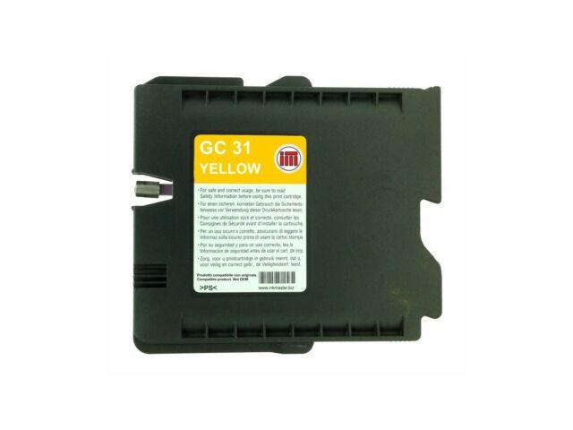 Cartuccia compatibile RICOH GC31 YELLOW