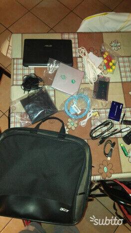 Netbook Asus accessori, cavi vari, hard disk, mouse,