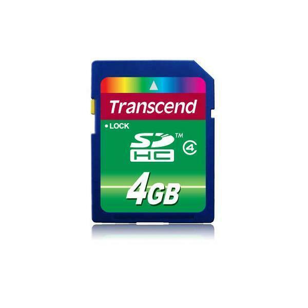Transcend ts4gsdhc4 memoria flash 4 gb sdhc