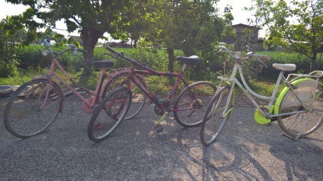 3 Biciclette usate da sistemare