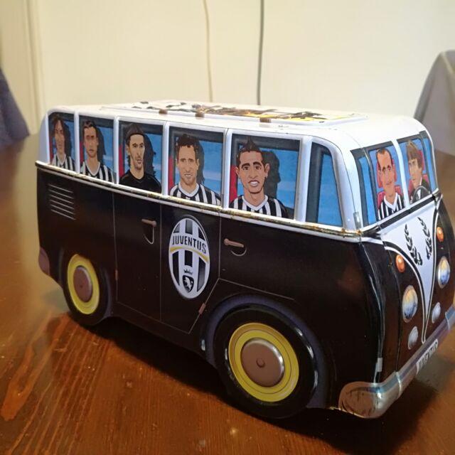 Modellino Bus dei Campioni Juventus scatola in latta