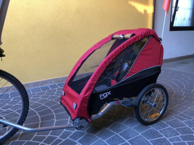 Rimorchio Passeggino Carrello Bambino per Bicicletta