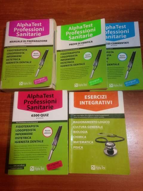 Alpha test Professioni sanitarie kit completo