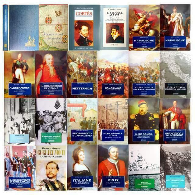Biblioteca Storica de IL Giornale e altri titoli