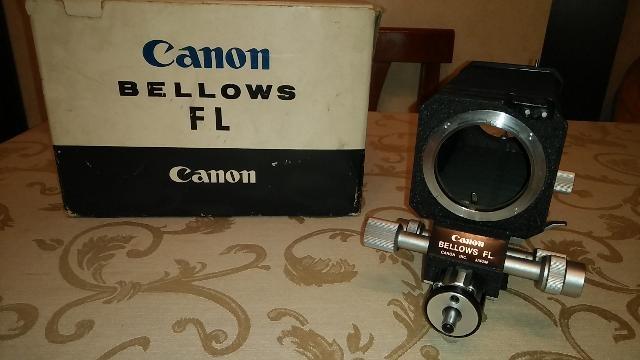 CANON FD FL SOFFIETTO BELLOWS MACRO