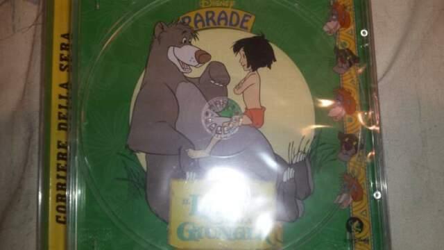 Cd musicale Walt Disney raro il libro della giungla
