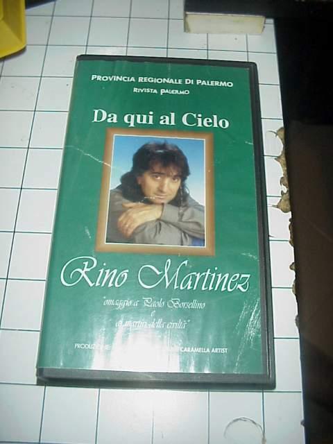 DA QUI AL CIELO Rino Martinez vhs videocassetta film cinema
