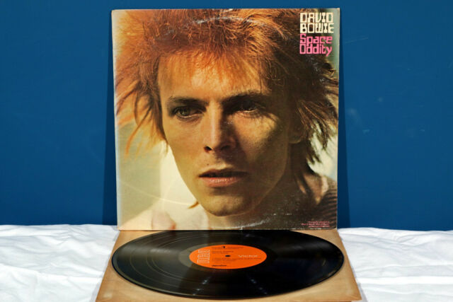 David Bowie SPACE ODDITY LP Vinile *EX-/EX-* RaRo