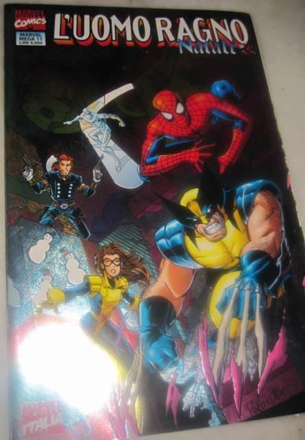 L'Uomo Ragno Natale Marvel Mega 11 Rick Leonardi