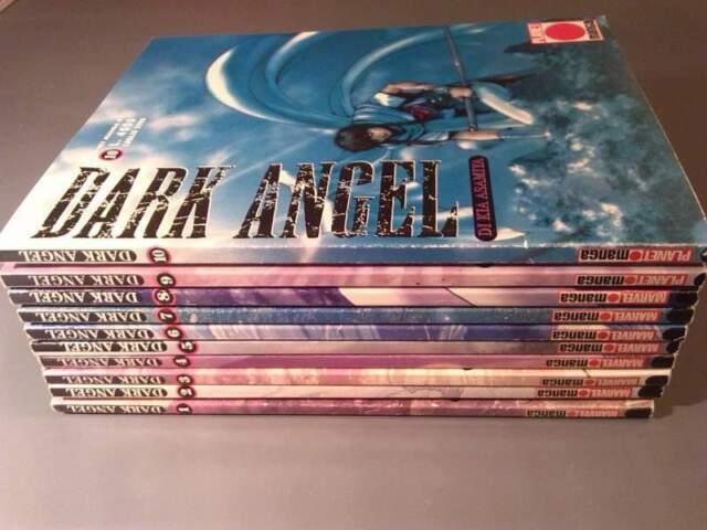 Manga DARK ANGEL volumi da 1 a 10 edizione Marvel Manga