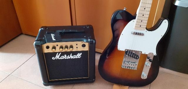 SQUIER TELECASTER + MARSHALL
