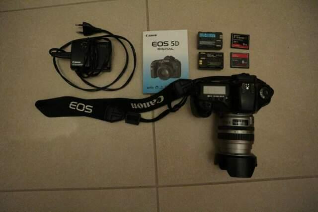 Canon EOS 5D mk1 + Canon EF  USM + Canon EW-73 II