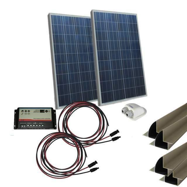Kit solare Camper Pannello 200WMC4 e regolatori di carica