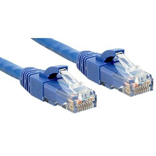 Lindy Cat.6 UTP Premium 10.0m cavo di rete 10 m Blu