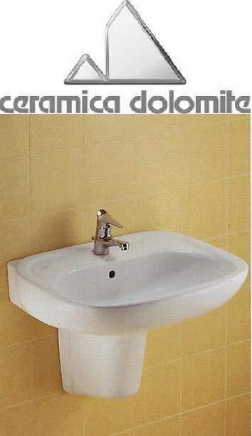 Semicolonna per lavabo rio/clodia ceramica dolomite