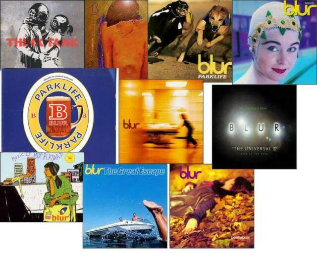 BLUR - LOTTO 15 CD (nuovi, usati e rarità)