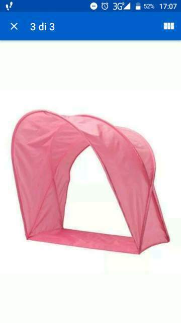 Baldacchino per bambino - tenda ikea
