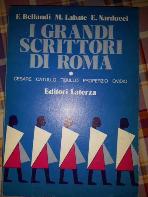 I grandi scrittori di roma