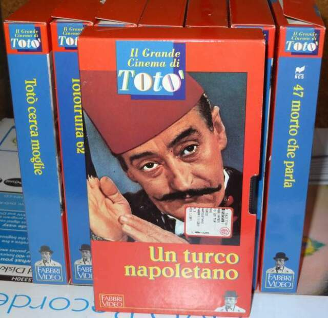 Il Grande Cinema Di Toto' - 8 VHS - Fabbri Video