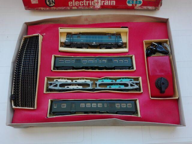 Trenino Lima vintage HO completo locomotiva anni 70