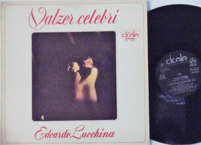 4Dischi Vinile LP 33giri Valzer Liscio Santo&Johnny Hit