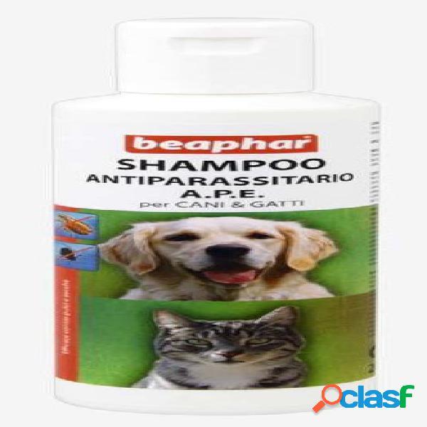 Beaphar shampoo antiparassitario cane e gatto a.p.e. 200 ml