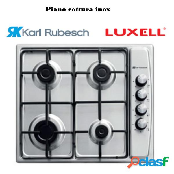 Piano cottura Inox 4