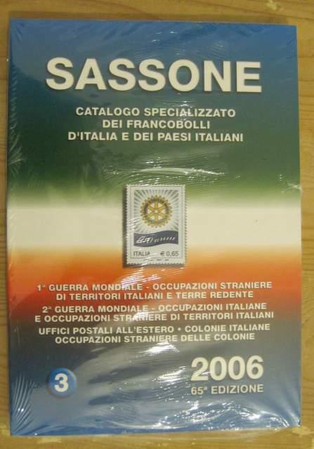 Sassone, Catalogo dei francobolli d'Italia e paesi italiani,
